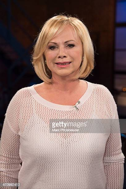 Presenter Marijke Amado attends the 'Koelner Treff' TV Show at the WDR Studio on May 11 2015 in Cologne Germany