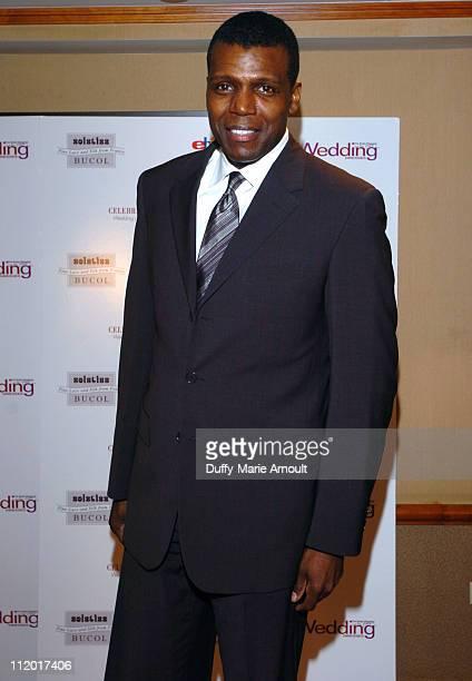 Presenter Mark Ingram during Wedding Dresses Magazine's 2005 Couture Bridal Awards at Drake Hotel in New York City New York United States