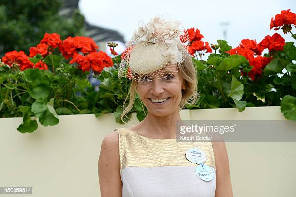 Presenter Martha Ward attends day three of Royal Ascot at Ascot Racecourse on June 19 2014 in Ascot England