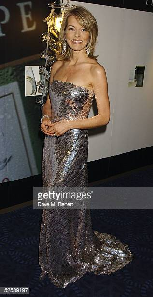 TV presenter Mary Nightingale attends the reception for The Tio Pepe/Carlton London Restaurant Awards 2005 at the Grosvenor House Hotel on April 4...