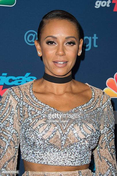 Presenter Mel B arrives at the 'America's Got Talent' Season 11 Finale Live Show at the Dolby Theatre on September 14 2016 in Hollywood California