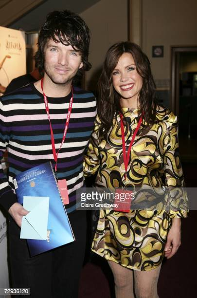 TV presenter Melinda Messenger and her husband singer Wayne Roberts arrive at the VIP performance of Cirque Du Soleil's 'Alegria' at Royal Albert...