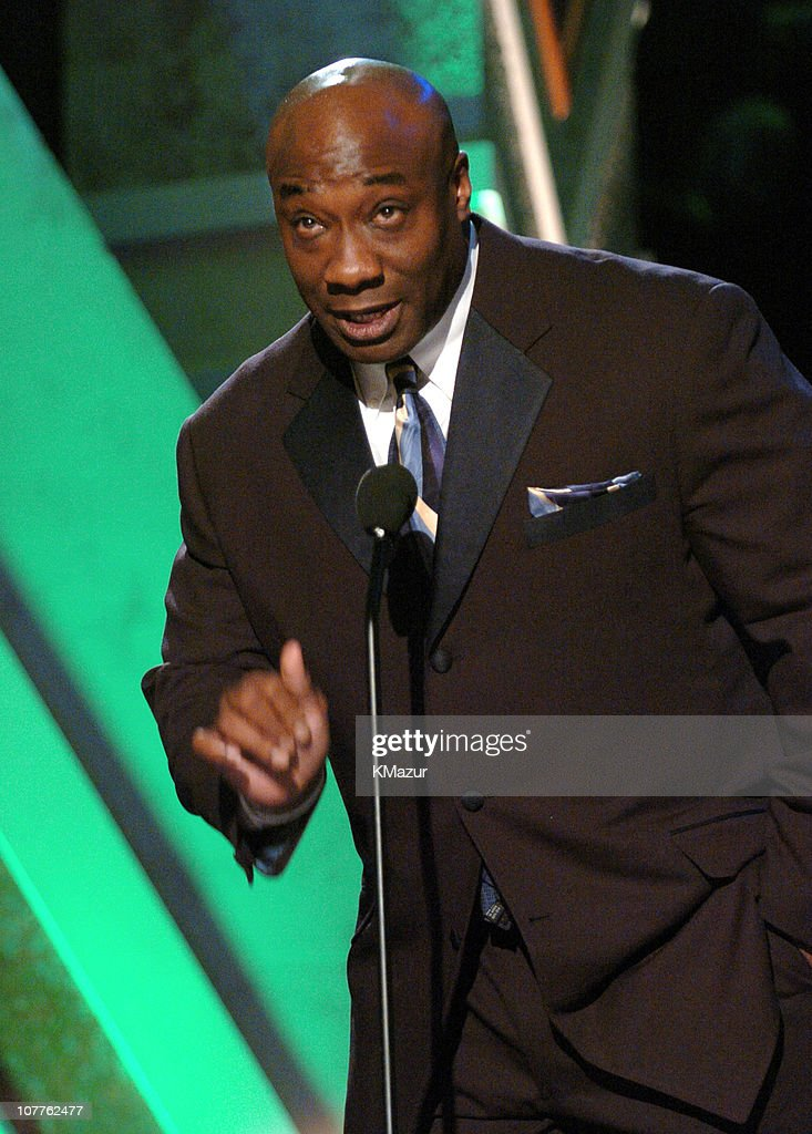 Presenter Michael Clarke Duncan during The 2004 Trumpet Awards - Show at Omni Hotel in Atlanta, Georgia, United States.