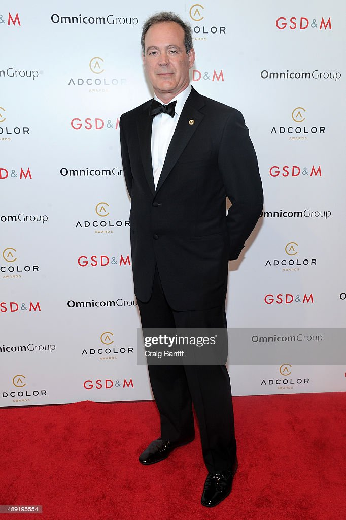 Presenter Michael O'Brien attends the 9th Annual ADCOLOR Awards at Pier 60 on September 19, 2015 in New York City.