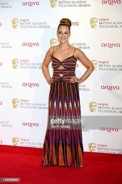 Presenter Miranda Raison attends The 2012 Arqiva British Academy Television Awards at the Royal Festival Hall on May 27 2012 in London England