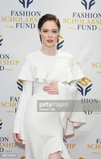 Presenter Model Coco Rocha attends the 81st Annual YMA Fashion Scholarship Fund National Merit Scholarship Awards Dinner at Marriott Marquis Times...