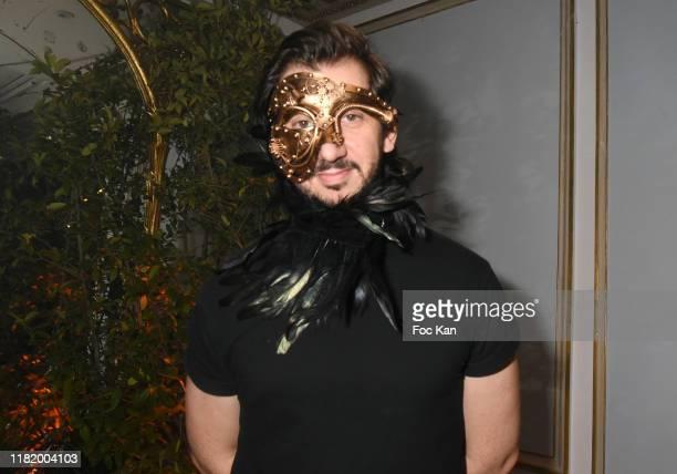 TV presenter Monsieur Poulpe attends the Bal Masque de Monsieur D At Pavillon d'Armenonville on October 18 2019 in Paris France