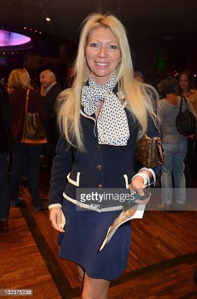 TV presenter Nadine Rodd attends the 'Prix de La Coupole' Literary Awards At La Coupole on June 8 2011 in Paris France