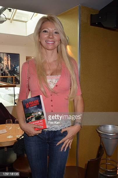 TV presenter Nadine Rodd attends the 'Prix de L'Alcazar 2011' Detective Story Awards at L'Alcazar on May 9 2011 in Paris France