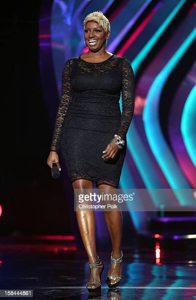 Presenter Nene Leakes speaks onstage during VH1 Divas 2012 at The Shrine Auditorium on December 16 2012 in Los Angeles California