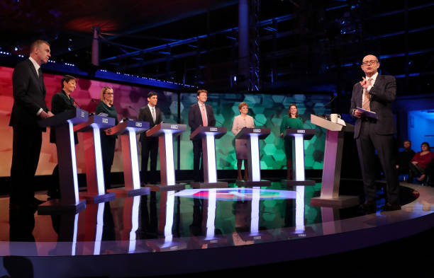 GBR: BBC Election Debate Takes Place In Cardiff