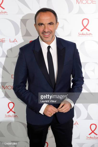 Presenter Nikos Aliagas attends the 17th 'Diner De La Mode' as part of Paris Fashion Week on January 24 2019 in Paris France