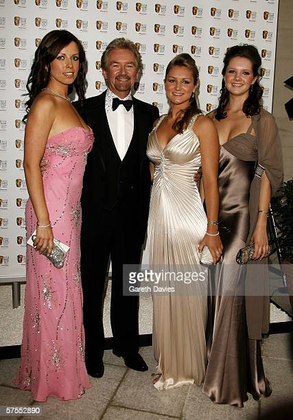 Presenter Noel Edmonds and his daughters Charlotte Lorna and Olivia arrive at the Pioneer British Academy Television Awards 2006 at the Grosvenor...