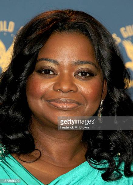 Presenter Octavia Spencer poses in the press room at the 64th Annual Directors Guild Of America Awards held at the Grand Ballroom at Hollywood...