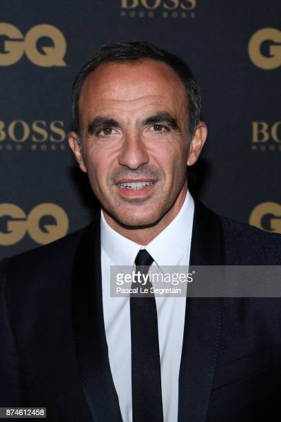 Presenter of the year Nikos Aliagas attends GQ Men Of The Year Awards 2017 at Le Trianon on November 15 2017 in Paris France