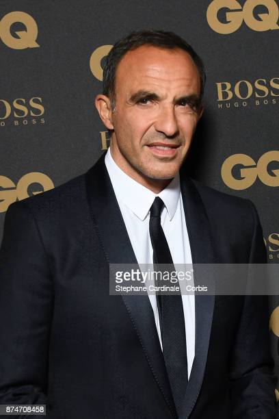 Presenter of the year Nikos Aliagas attends the GQ Men Of The Year Awards 2017 at Le Trianon on November 15 2017 in Paris France