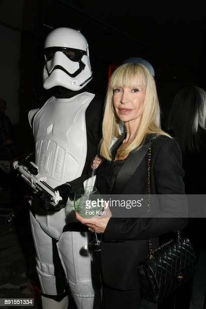 TV presenter Patricia Charpentier attends the Star Wars Party at Le Saint Fiacre on December 12 2017 in Paris France