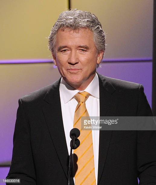 Presenter Patrick Duffy speaks onstage during The Broadcast Television Journalists Association Second Annual Critics' Choice Awards at The Beverly...