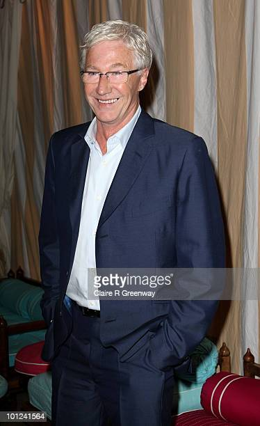 TV presenter Paul O'Grady attends the after party following the UK premiere of 'Sex And The City 2' at The Orangery Kensington Gardens on May 27 2010...