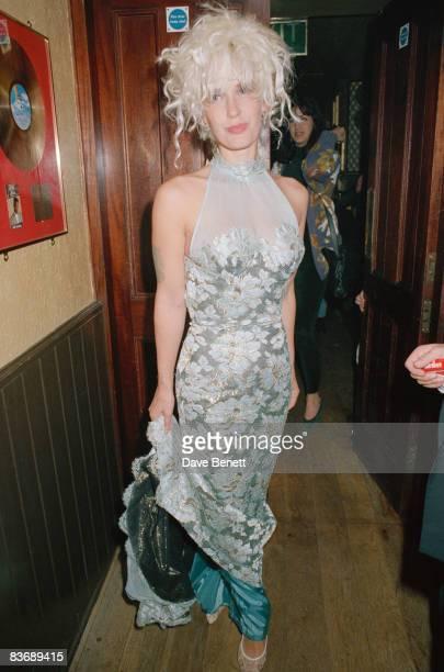 TV presenter Paula Yates 1991