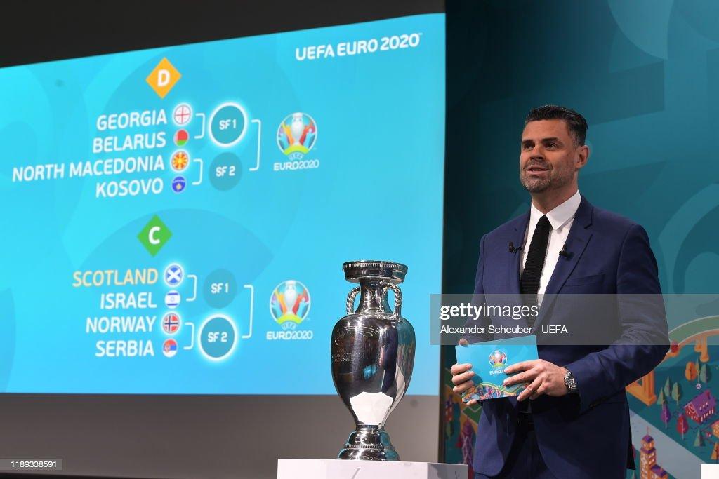 UEFA EURO 2020 Play-off Draw : News Photo