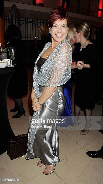 Presenter Penny Smith attends the 2011 Costa Book Awards at Quaglino's on January 24 2012 in London England