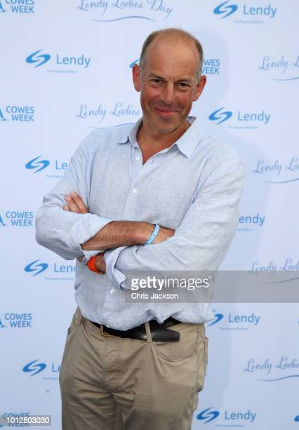 Presenter Phil Spencer attends a reception at the Lendy Cowes Week Ladies Day Prizegiving Reception at Northwood Housetakes on Ladies Day at Lendy...