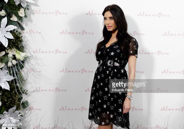 TV presenter Pilar Rubio attends the 'Alma en Pena' opening store photocall at Alma en Pena store on December 14 2017 in Madrid Spain
