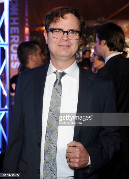 Presenter Rainn Wilson attends the CNN Heroes An All Star Tribute at The Shrine Auditorium on December 2 2012 in Los Angeles California...