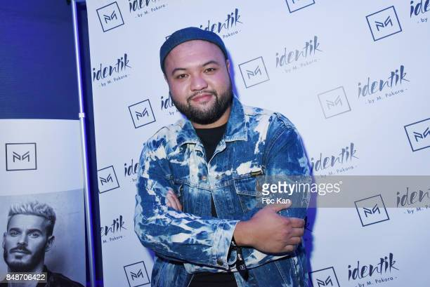 TV presenter Raphal Yem attends 'Identik' by M Pokora Launch Party at Duplex Club on September 17 2017 in Paris France