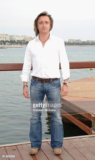Presenter Richard Hammond attends a photocall for 'Blast Lab' at Majestic Beach Pier during the 25th MIPCOM on October 5, 2009 in Cannes, France.
