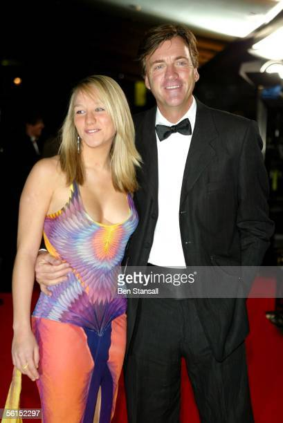 TV presenter Richard Madeley and daughter Chloe arrives at the Variety Club Showbiz Awards celebrating the best in showbusiness at the London Hilton...