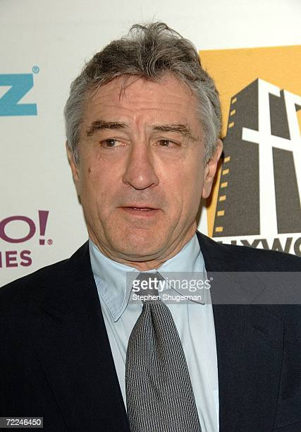 Presenter Robert De Niro poses in the press room at The Hollywood Film Festival 10th Annual Hollywood Awards Gala Ceremony at the Beverly Hilton...