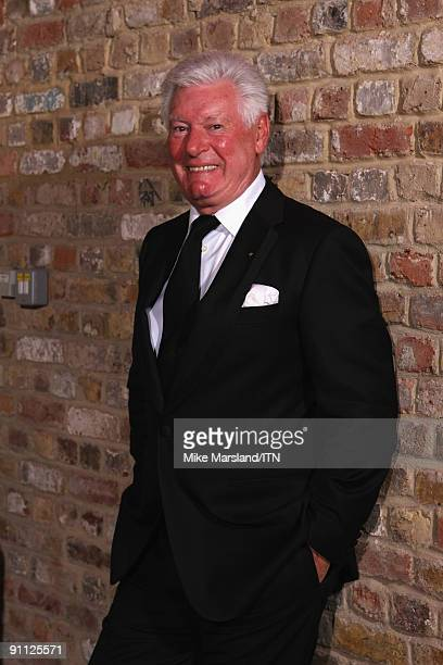 Presenter Roy Walker poses ahead of the performance at the Newsroom�s Got Talent event held in aid of Leonard Cheshire Disability and Helen Douglas...