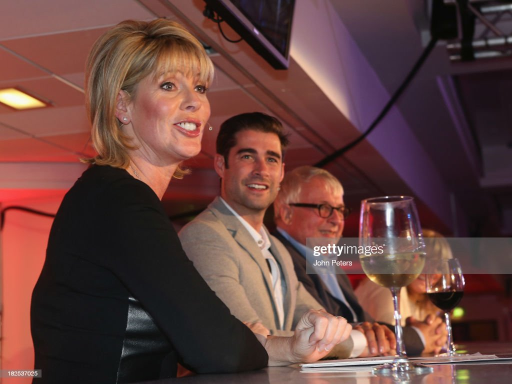 TV presenter Ruth Langsford attends the Manchester United Foundation Ladies Lunch, raising money for The Christie Charity and Francis House Children's Hospice, at Old Trafford on September 30, 2013 in Manchester, England.