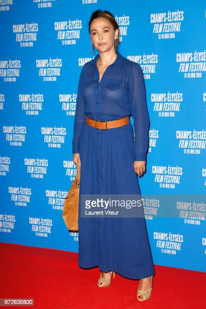 Presenter Sandrine Quetier attends 7th Champs Elysees Film Festival Opening ceremony at Cinema Gaumont Marignan on June 12 2018 in Paris France