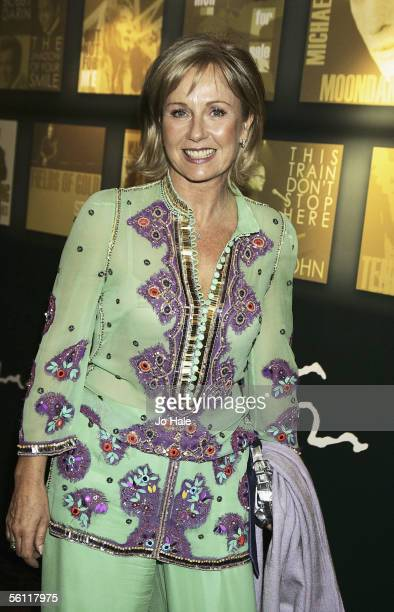 Presenter Sarah Greene attends the Music Industry Trust Awards 2005 on November 7 2005 in London England Michael Parkinson is the 2005 recipient of...