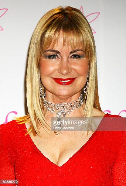 Presenter Sian Lloyd arrives at the FiFi UK Fragrance Awards 2008 at the Dorchester Hotel on April 23 2008 in London England