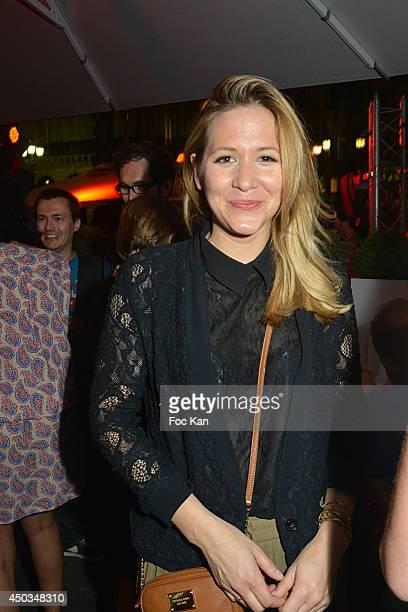 TV presenter Stephanie Loire attends 'La Boumette' Party at L'Opera Restaurant on June 7 2014 in Paris France
