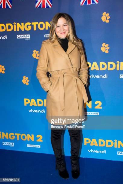 Presenter Stephanie Loire attends 'Paddington 2' Paris Premiere at L'Olympia on November 19 2017 in Paris France