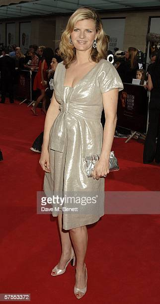 TV presenter Susannah Constantine arrives at the Pioneer British Academy Television Awards 2006 at the Grosvenor House Hotel on May 7 2006 in London...