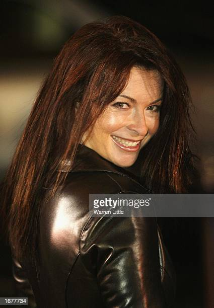 Presenter Suzie Perry arrives for the BBC Sports Personality of the Year Awards held at the BBC Television Centre in London December 8 2002