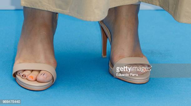 tv presenter tania llasera nails detail attends the lupilu by lidl photocall at el - Lidl Jardin