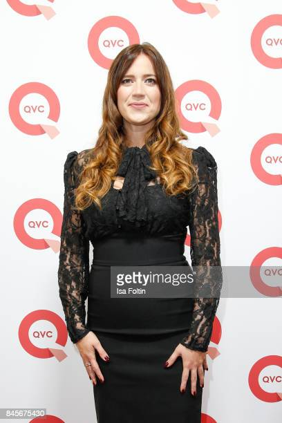 QVC presenter Thania Metternich attends a QVC event during the Vogue Fashion's Night Out on September 8 2017 in duesseldorf Germany