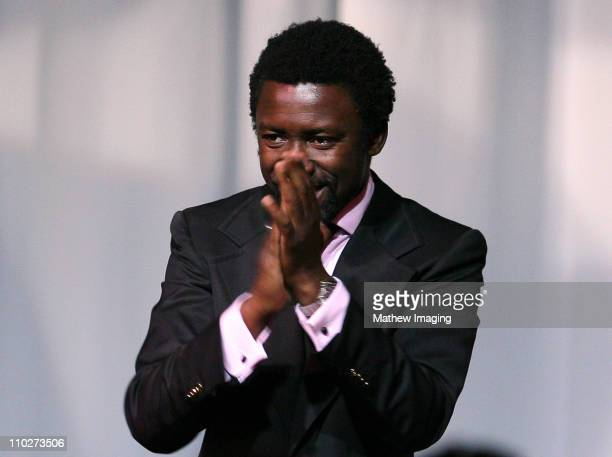 Presenter Tony Okungbowa during The 33rd Annual Daytime Creative Arts Emmy Awards in Los Angeles - Show at The Grand Ballroom at Hollywood and...