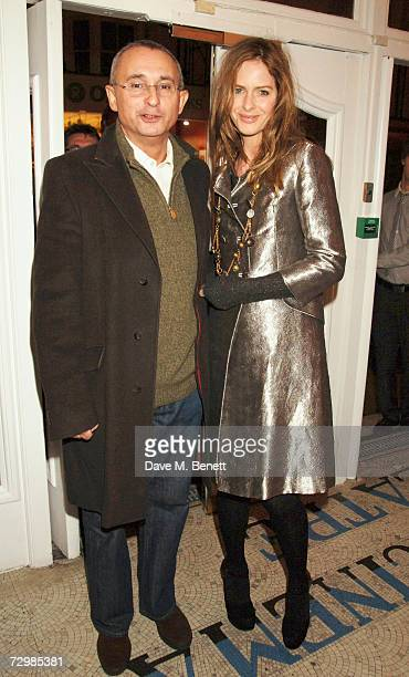 TV presenter Trinny Woodall and husband Johnny Elichaoff attend the special screening of The Last King of Scotland at The Electric Portobello January...