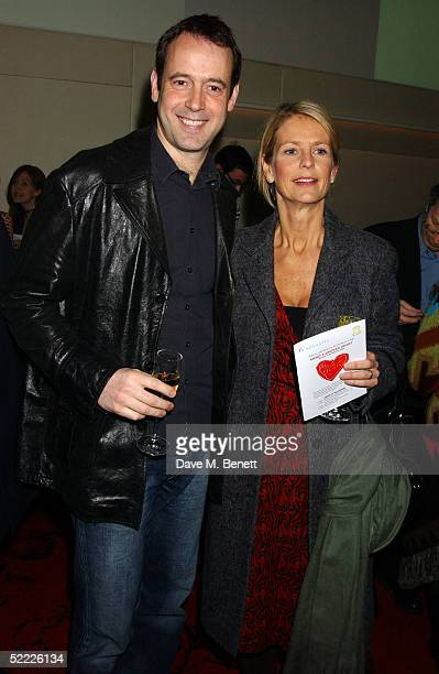 TV presenter Ulrika Jonsson and husband Lance GerrardWright attend the Chain Of Hope auction and party in aid of heart surgeon Professor Sir Magdi...