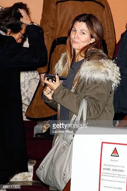Presenter Veronika Loubry attends the ' Belle et Sebastien L'Aventure Continue' Paris Premiere at Cinema Gaumont Capucine on November 29 2015 in...