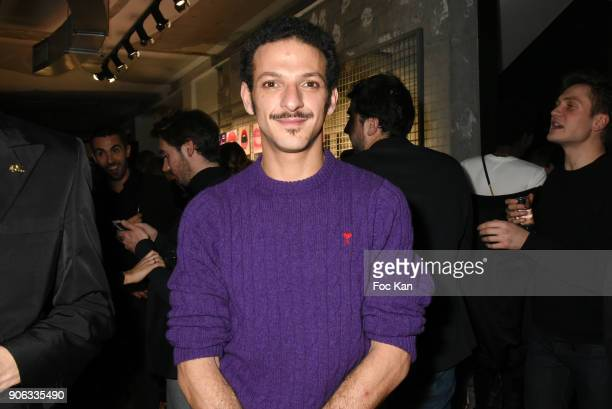 TV presenter Vincent Dedienne attends YSL Beauty Party During Paris Fashion Week Menswear Fall/Winter 20182019 on January 17 2018 in Paris France