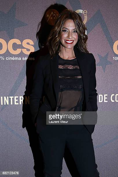 TV Presenter Virginie Guilhaume attends 'Sous le Meme Toit' Photocall during tne 20th L'Alpe D'Huez International Film Festival on January 19 2017 in...